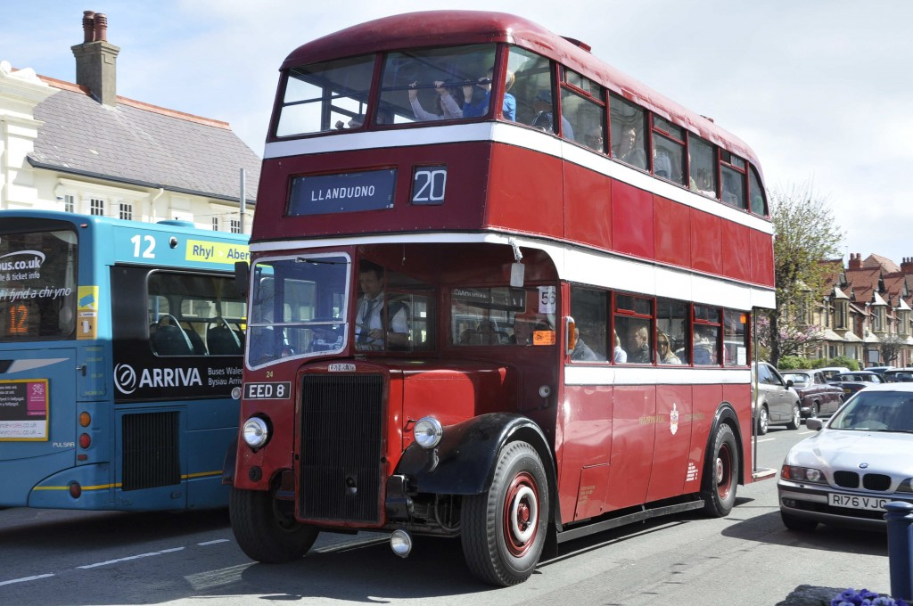 Leyland bodied Warrington Leyland from a cancelled London Transport order