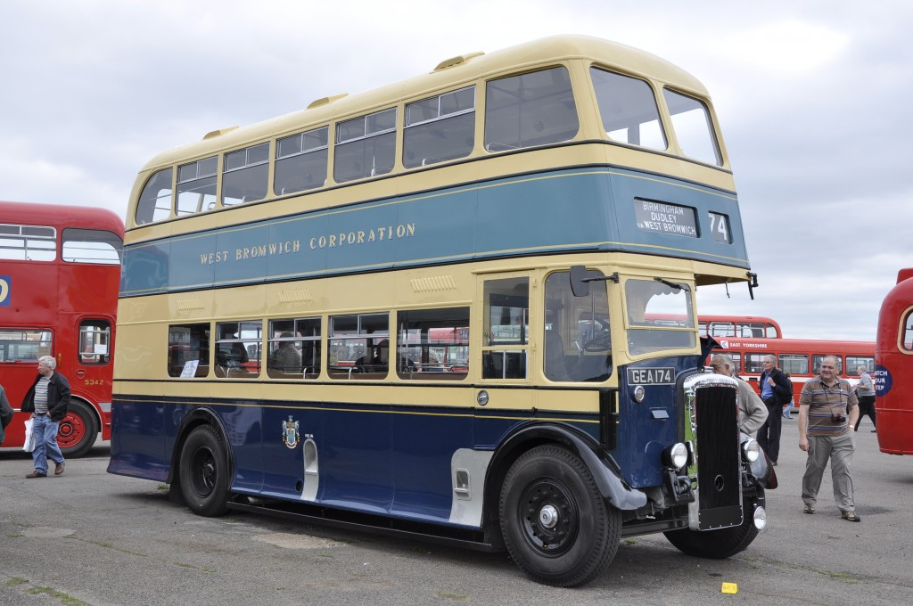 Fresh from restoration, a fine West Bromwich Daimler - magnificent!