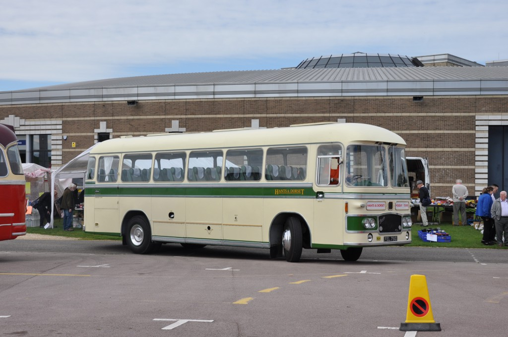 Our old Bristol MW rolls up....
